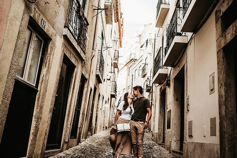 Preboda en Lisboa