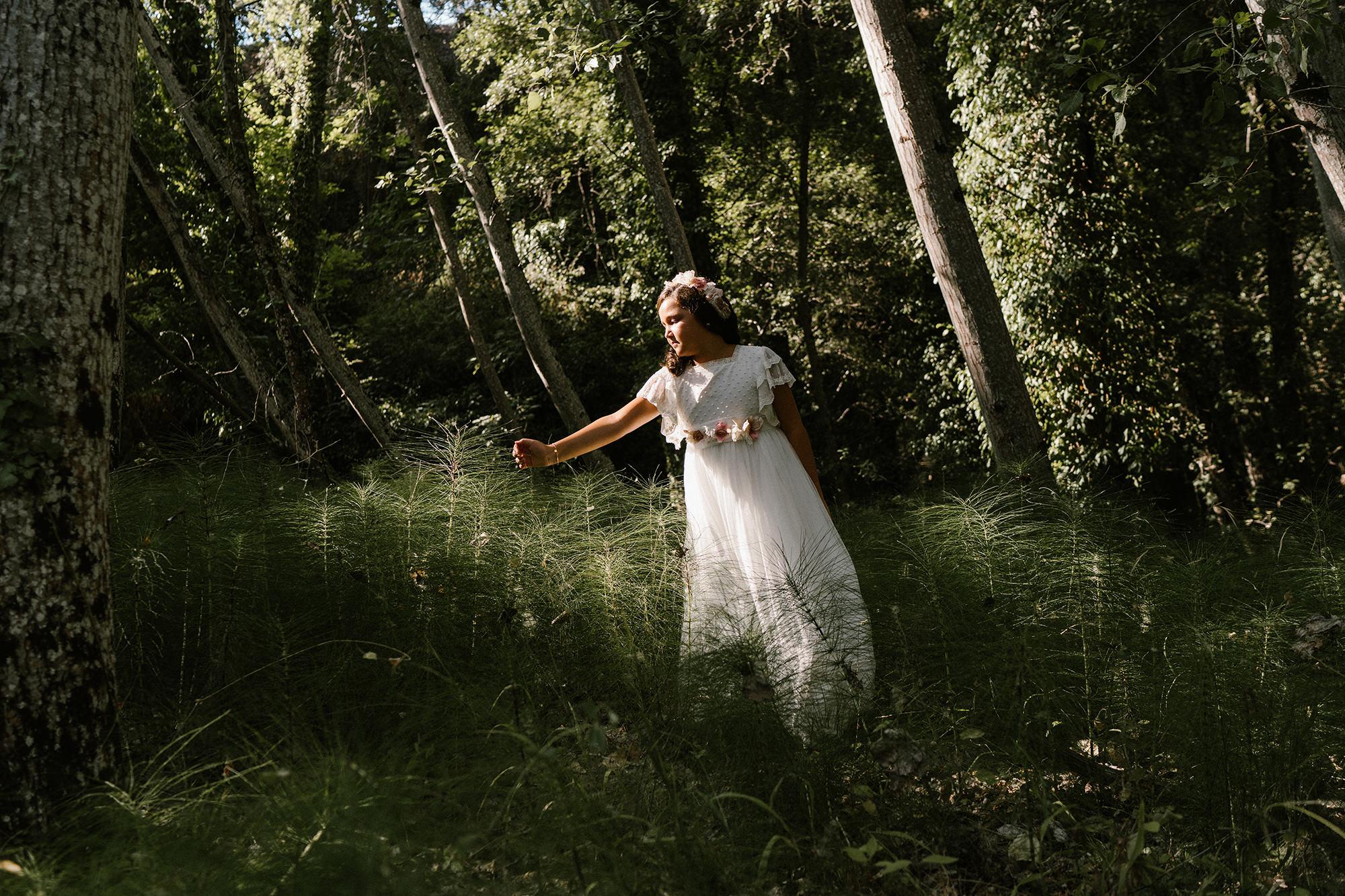 Fotógrafo de comunión en la Sierra de Huelva