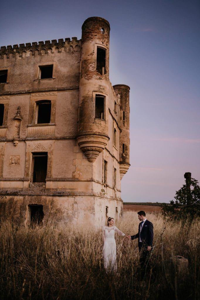 060 Postboda en Cordoba Castillo abandonado
