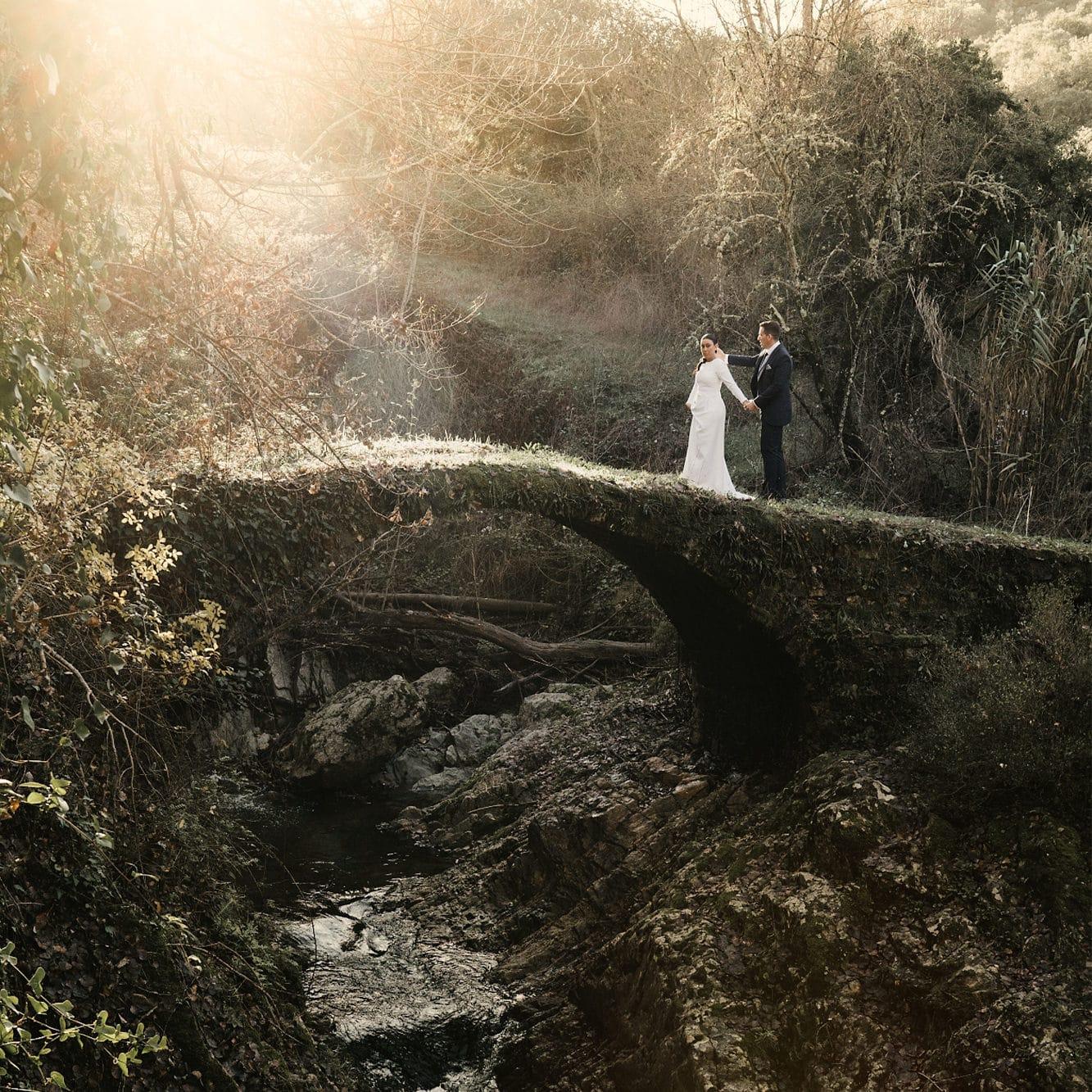Postboda en la sierra de Huelva
